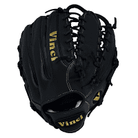 13 inch Fielders Glove-PJV04-L in Black