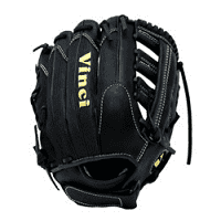 Mesh Series RCV-VM Black with Black Mesh 12.5 Inch Fielders Glove